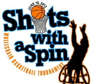 Shots With A Spin Logo