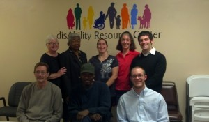 disAbility Resource Center staff with Daniel Becton of Project Ubuntu