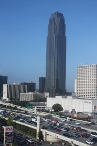 Houston, Texas - view from our hotel window