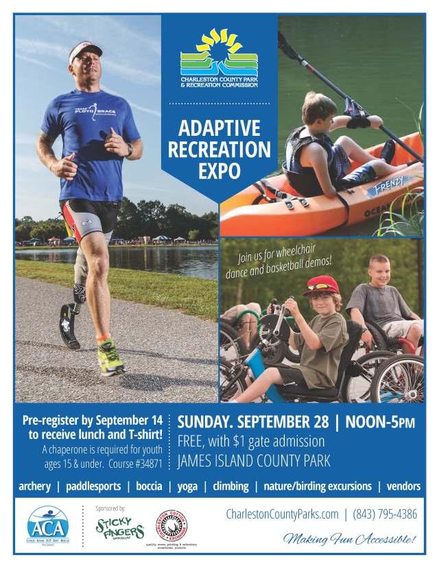 Adaptive Recreation Expo Flyer