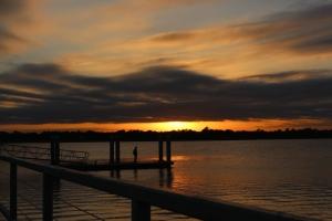 Brittlebank Park Sunset