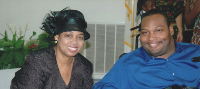 Alex and Mom