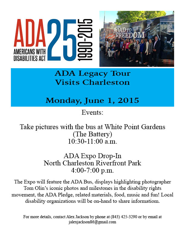 ADA Legacy Tour Flyer