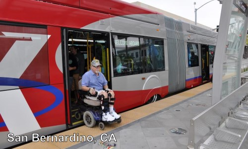 Bus Rapid Transit in San Bernardino, California