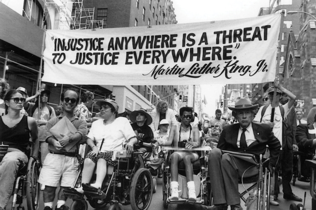 MLK Injustice Anywhere Quote