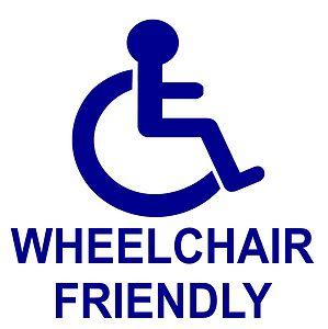 Wheelchair-Friendly Sign
