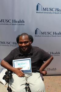 Alex at MUSC Trauma Survivors Day May 11