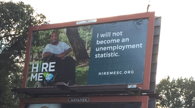 Alex - Hire Me SC Billboard
